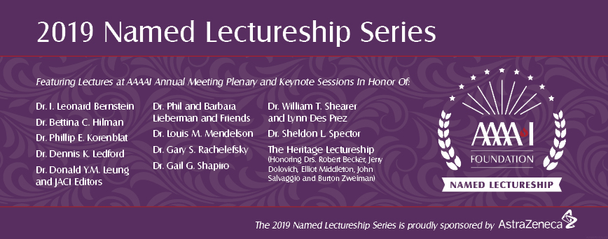 2019 Named Lectureship Series